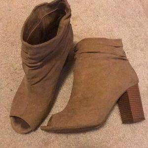 Chinese laundry booties